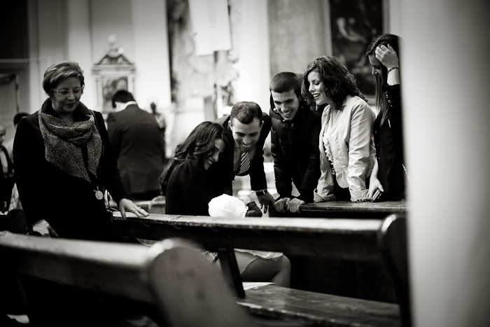 Reportage christening photo